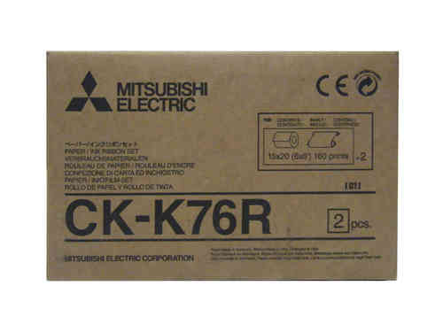 Mitsubishi K76RHG K60DW-S Media Kit
