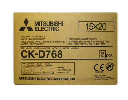 Mitsubishi D768 8x6 Media Kit