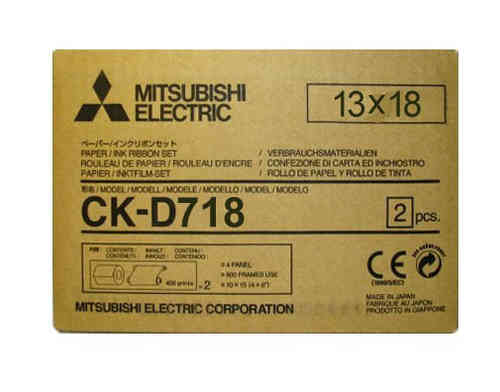 Mitsubishi D718 7x5 Media Kit