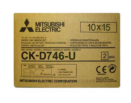 Mitsubishi D746U Media Kit