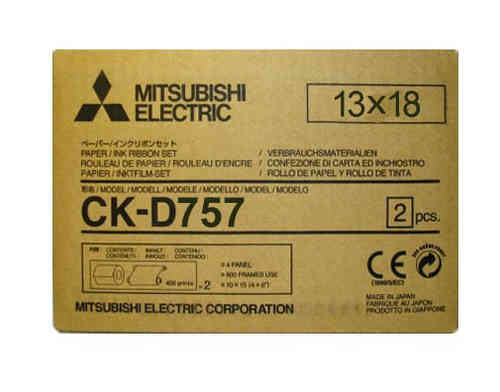 Mitsubishi D757 7x5 Media Kit