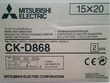 Mitsubishi D868 Media Kit