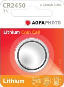 AGFA Photo Lithium Coin CR2450 1pk (box of 12)