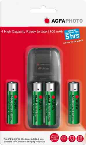 AGFA Instant Energy Charger & Batts (box of 3)