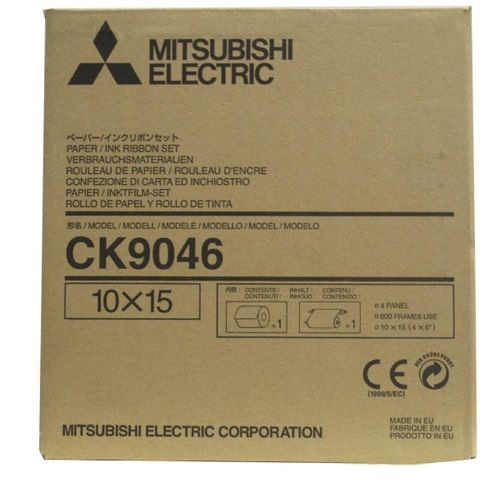 Mitsubishi CK9046 CP9600DW 6x4 Media Kit
