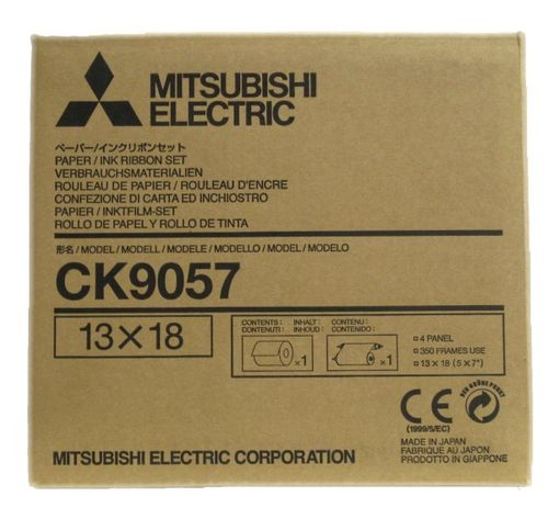Mitsubishi CK9057 CP9600DW 7x5 Media Kit