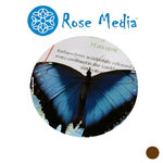 "Rose Media HD White Canvas (24"") x 15m - 340gsm"