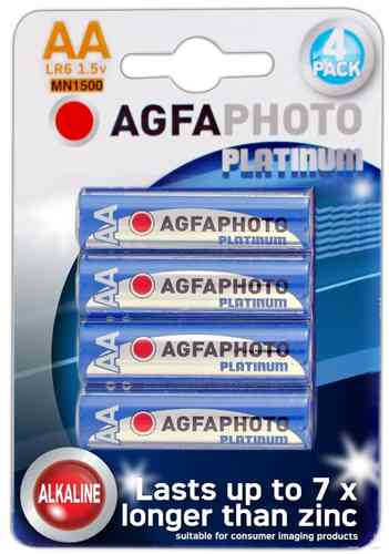 AGFA Photo Digital Alkaline AA 4pk (box of 12)