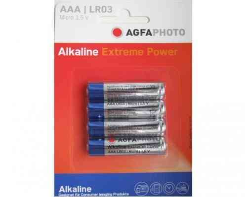 AGFA Photo Digital Alkaline AAA 4pk (box of 12)