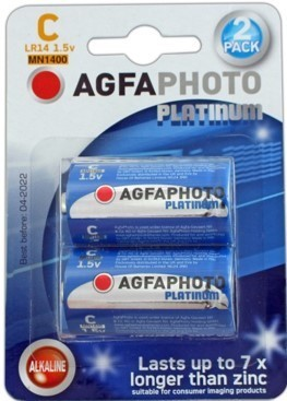 AGFA Photo Digital Alkaline C 2pk (box of 6)