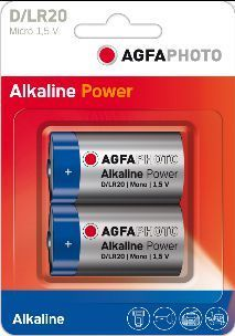 AGFA Photo Digital Alkaline D 2pk (box of 6)