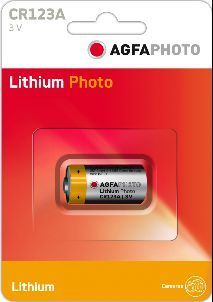 AGFA Photo Lithium CR123A 1pk (box of 12)