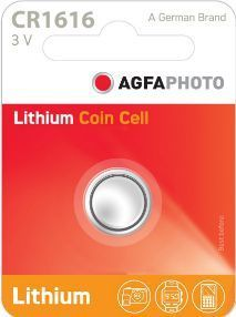 AGFA Photo Lithium Coin CR1616 1pk (box of 12)
