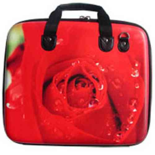 Fun & Funky Red Rose Bag & Portfolio *WIGIG*