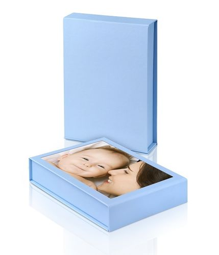 GiftBox 6x4 Blue (100 Prints) *WIGIG*