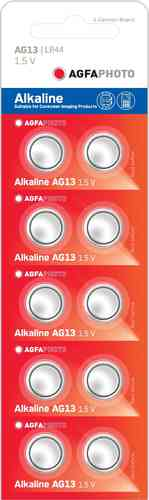 AGFAPhoto Alkaline LR44 / A76 10pk (box of 5)