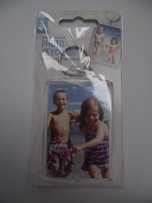 Photo Keychain 45x70mm (2 photos)