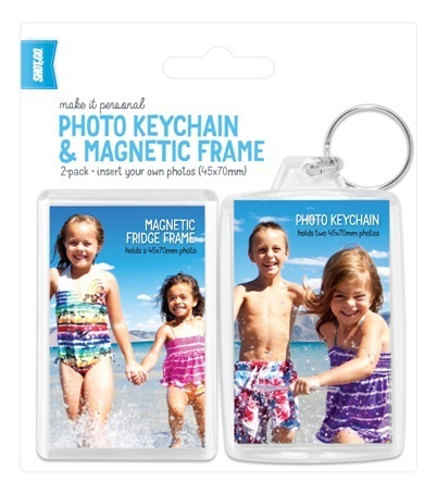 Photo Keychain and Fridge Magnet 45x70mm