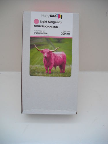 Hairy Coo L. Magenta 200ml Ink for Epson D700